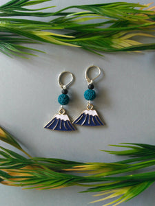 Snow-Capped Mountain Dangle Earrings