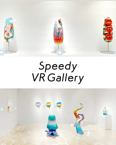 Online Exhibition! Enjoy the Art Gallery in LA from Your Smartphone!