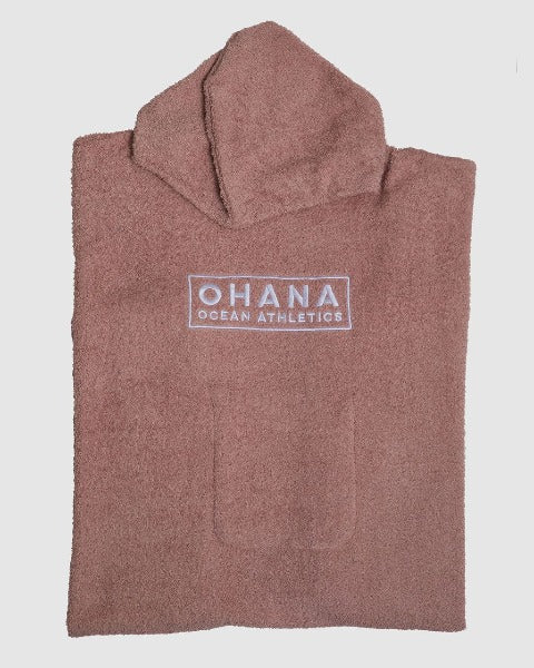 OHANA HOODED TOWEL- EVENING SANDS