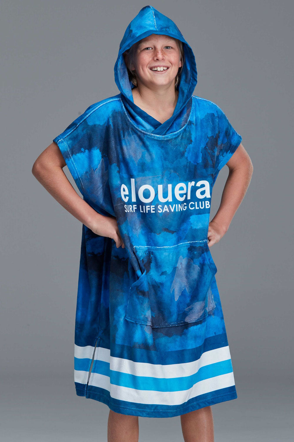 ELOUERA STATE TEAM SUBLIMATED HOODED TOWEL YOUTH