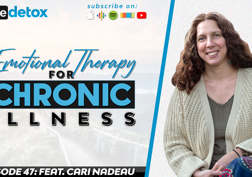 Episode 47 - Cari Nadeau - Emotional Therapy for Chronic Illness