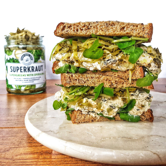 Chickpea 'No Tuna' Sandwich