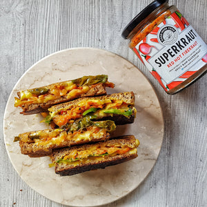 Ultimate Vegan Grilled 'Cheese' Sandwich/Toastie