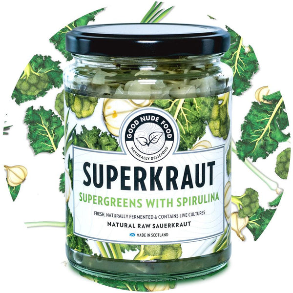 SUPERKRAUT - Supergreens with Spirulina Sauerkraut