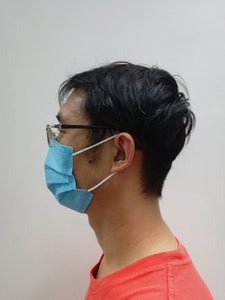 3 ply Medical Mask Earloop Blue