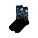Women's Van Gogh's Starry Night Socks thumbnail