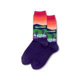 Womens Hollywood Crew Socks thumbnail