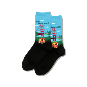 Womens Golden Gate Bridge Socks