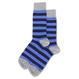 Men's Holiday Stripe Crew Socks