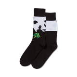 Men's Rob Pruitt's Panda with Bamboo Socks thumbnail