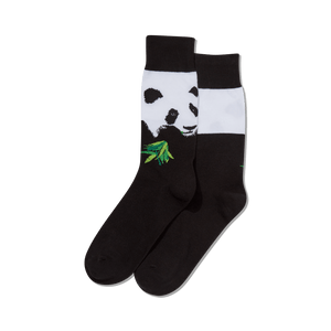 Men's Rob Pruitt's Panda with Bamboo Socks