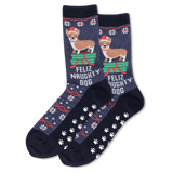 Women's Feliz Naughty Dog Socks