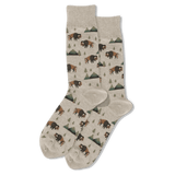 Men's Bison Crew Socks