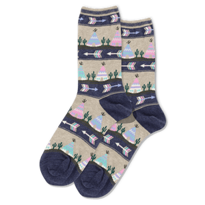 Women's Tee Pee Crew Socks