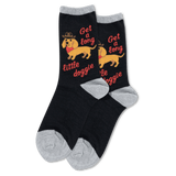 Women's Get a Long Little Doggie Socks thumbnail
