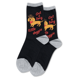 Women's Get a Long Little Doggie Socks