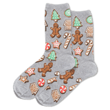 Women's Christmas Cookies Crew Socks thumbnail