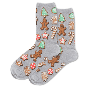 Women's Christmas Cookies Crew Socks