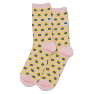 Women's Daisy Crew Socks