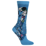 Women's Klimt's The Kiss Socks
