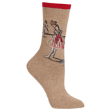 Womens Degas' Study of a Dancer Socks