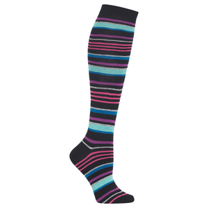 Women's Multi Stripe Knee High Sock
