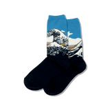 Women's Hokusai's Great Wave Socks thumbnail