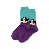 Women's Raphael's Angels Crew Socks