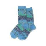 Womens Monet's Water Lilies Socks