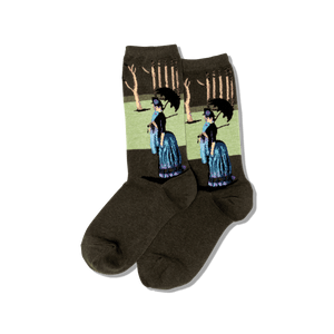 Women's Seurats A Sunday Afternoon Socks