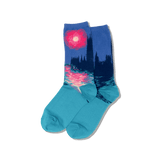 Women's Monet's Houses of Parliament at Sunset Socks thumbnail