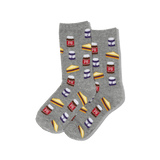 Kid's Peanut Butter and Jelly Socks thumbnail