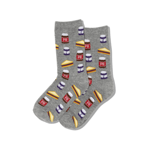 Kid's Peanut Butter and Jelly Socks
