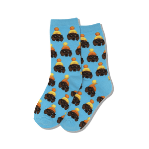Kid's Winter Dogs Crew Socks