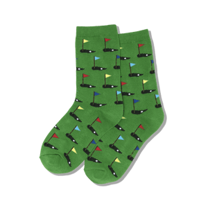Kid's Golf Crew Socks