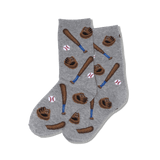 Kid's Baseball Crew Socks thumbnail