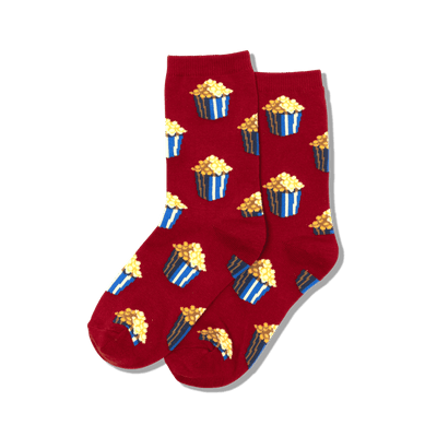 Kid's Popcorn Crew Socks