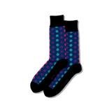 Men's Ombre Dots Crew Socks