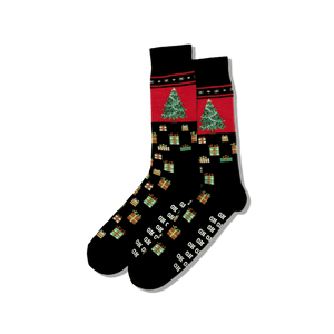 Men's Christmas Tree Crew Socks