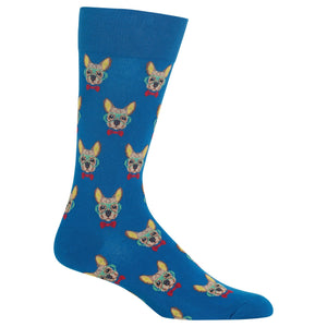 Men's Smart Frenchie Crew Socks