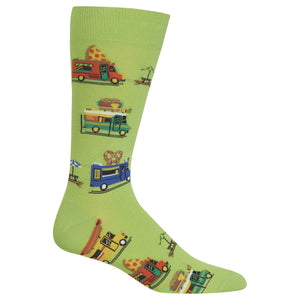Men's Food Truck Crew Socks