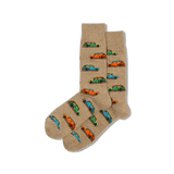 Men's Woody Surfer Car Socks