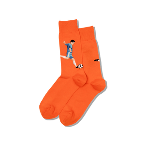 Men's Soccer Player Crew Socks