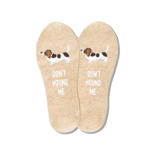 Men's Don't Hound Me No Show Socks
