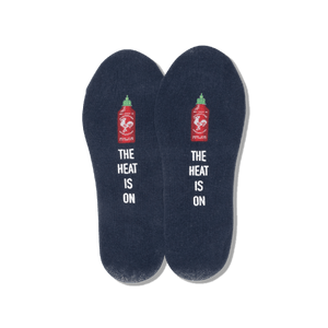 Men's The Heat is On No Show Socks