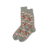 Men's Spotted Pig Crew Socks thumbnail