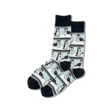 Men's Huskies Crew Socks