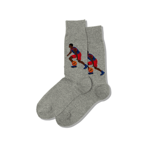 Men's Basketball Player Crew Socks