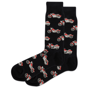 Men's Motorcycle Crew Socks