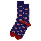 Men's Flag Crew Socks
